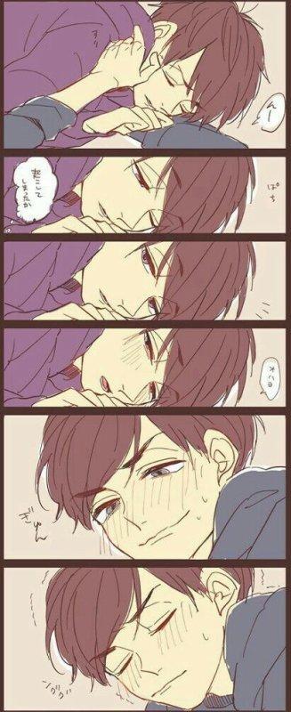 キスしてから松兄さん~