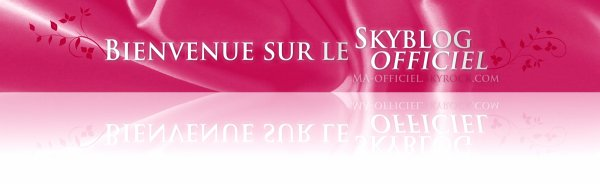 Bienvenue sur le Skyblog officiel du spectacle !