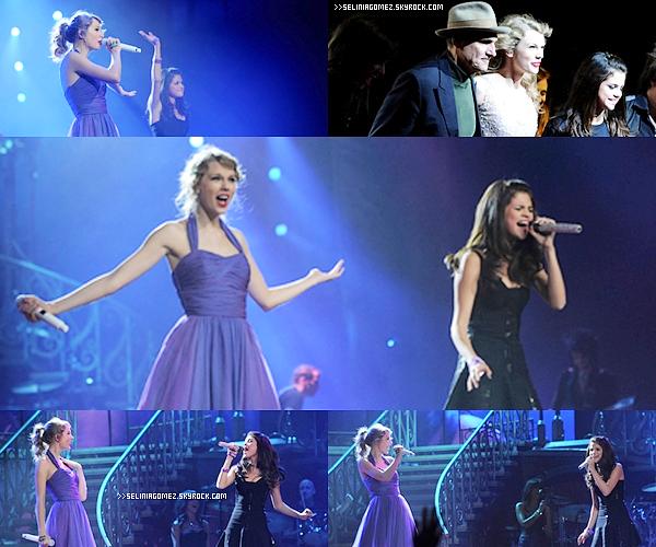 NOVEMBRE 16  CARTE POSTALE SUR LE RUN + 22 NOVEMBRE  JOUE AVEC TAYLOR SWIFT LORS DE SA TOURNÉE À NEW YORK   Aimes-tu Selena Gomez ?