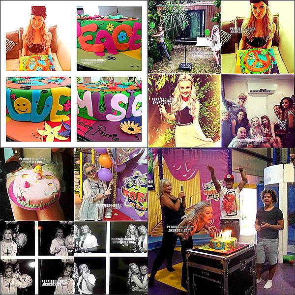 .  TWITTER • Découvrez des photos Perrie fêtant son anniversaire avec ses amies. .