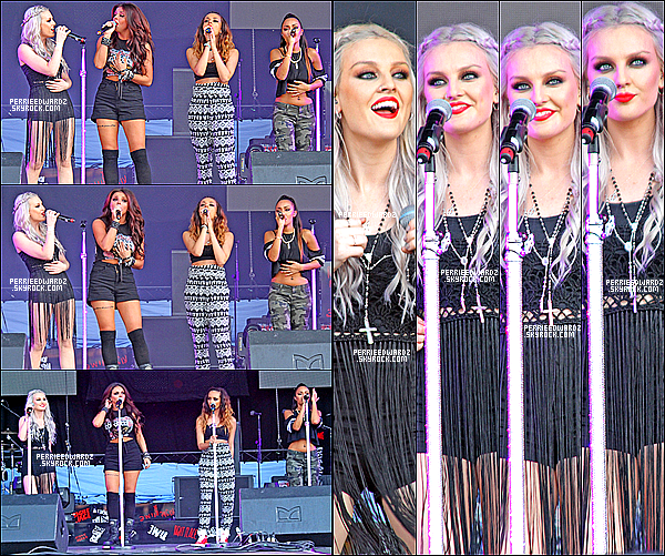 06/07/13 : Les Little Mix ont performé au festival de Alton Towers à Straffordshire.