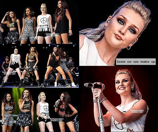 20/07/13 : Les Little Mix ont performé lors de l'évenement Ponty's Big Weekend-South Wales