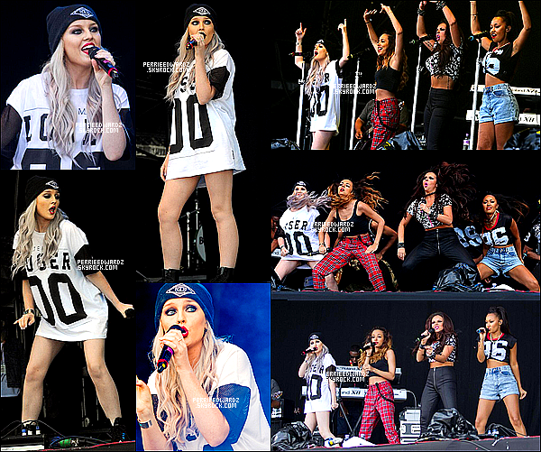 14/07/13 : Les Little Mix ont perfomé au « T in the Park Festival » à Newcastle ( R-U).
