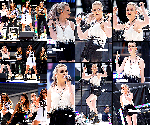 21/07/13 : Les Little Mix ont performé au National Lottery Anniversary Run à Londres (UK)