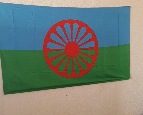 le drapeaux  gitan