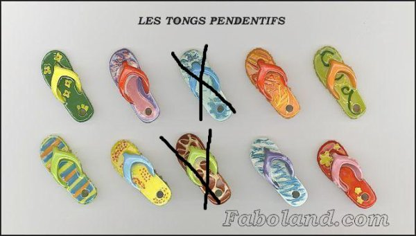 les tongs