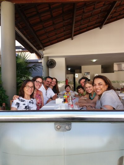 Chegada em Fortaleza