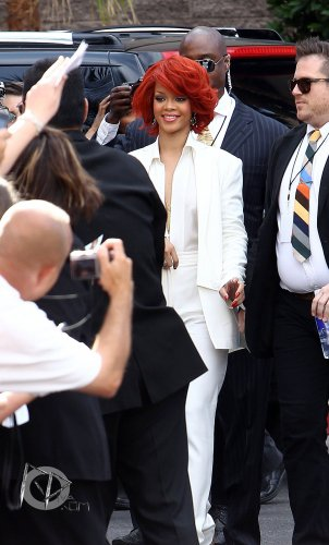 "22 Mai Rihanna arrive au ""MGM Grand"" pour les Billboard Music Awards, Las Vegas"