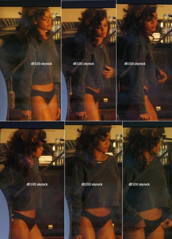Suite du tournage de « We Found Love »