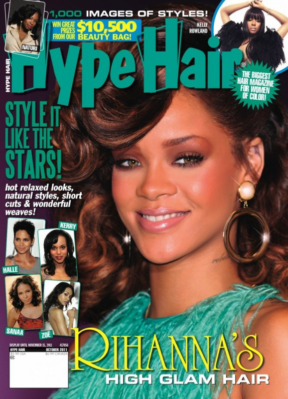 Une nouvelle couverture pour Rihanna