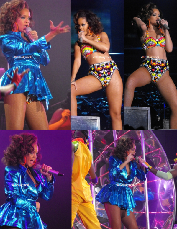 19/10/11 Rihanna en concert a Lyon (France)