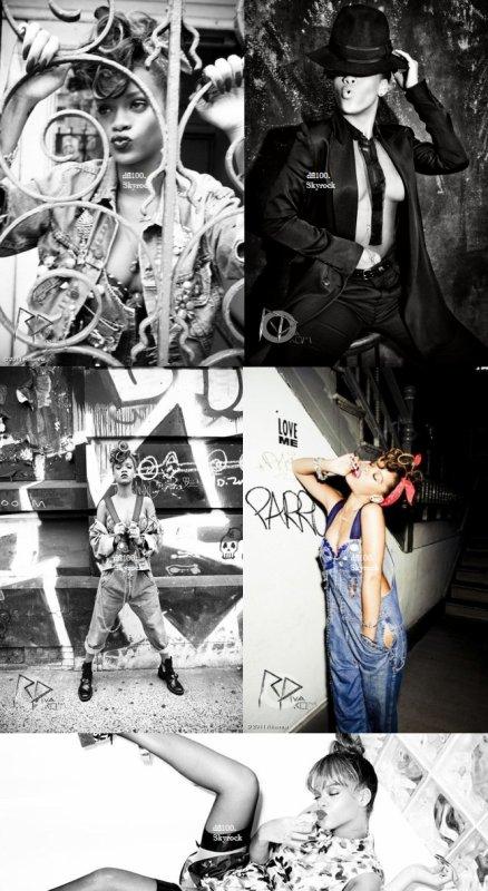 """Le 14/11/11                  Nouvelles photos promotionnelles pour """"Talk That Talk"""""""