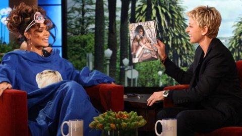 18/11/11                       Rihanna sur le plateau d'Ellen DeGeneres