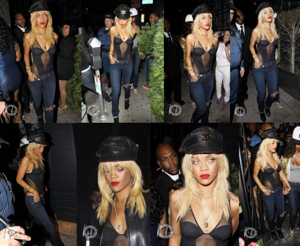 Le: 05/02/12             Rihanna quittant le club « Greystone » à Los Angeles