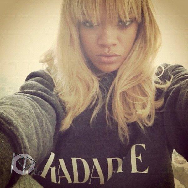 Nouvelles photos du compte Instagram de Rihanna