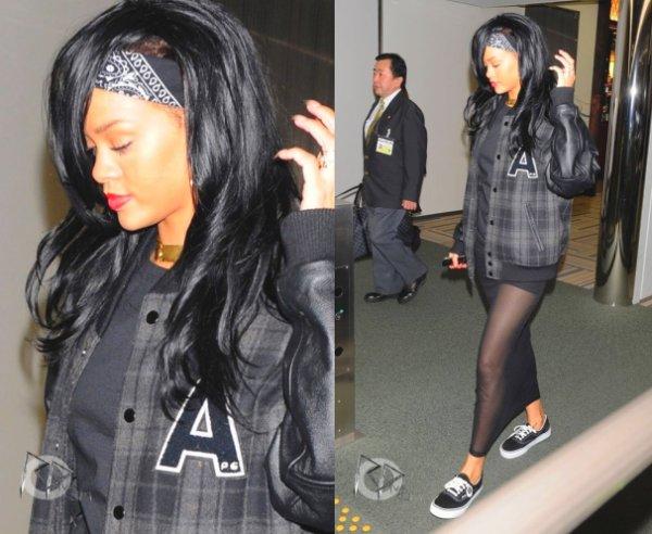 Rihanna quitte Tokyo