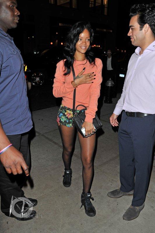 Rihanna se balade dans New York