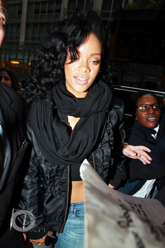 Rihanna se rend à son hôtel