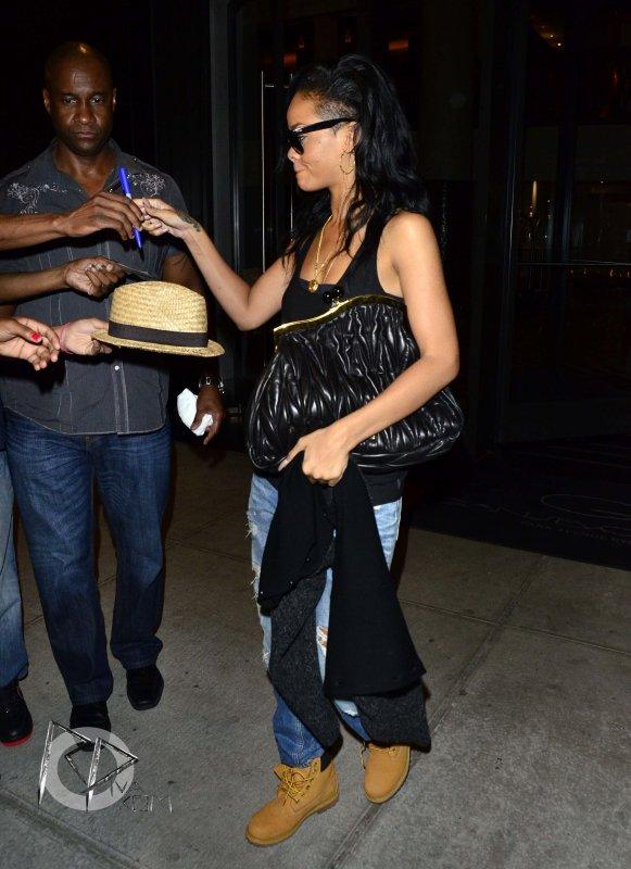 Rihanna regagne son hôtel