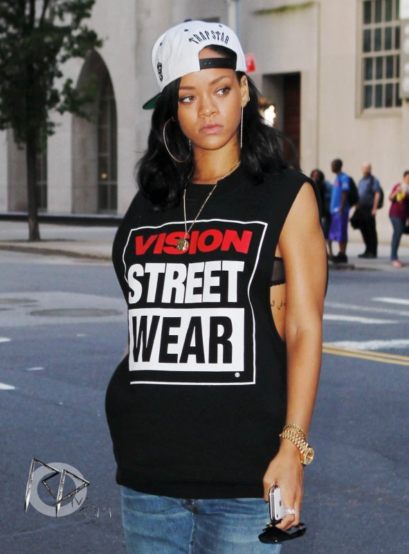 Rihanna au « Memorial Sloan-Kettering Cancer Center »