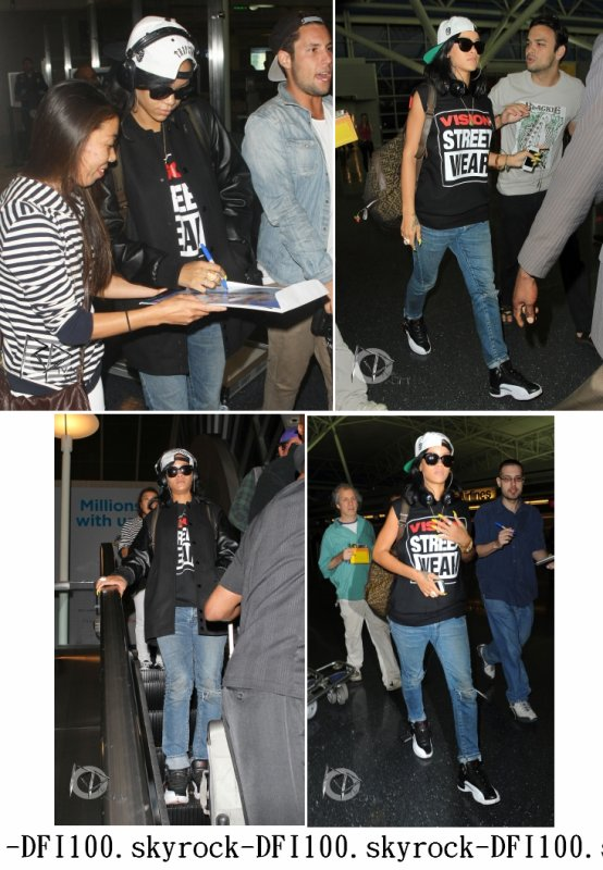Rihanna à l'aéroport de New York