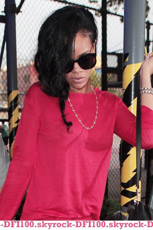 """Rihanna au restaurant """"Da Silvano"""""""