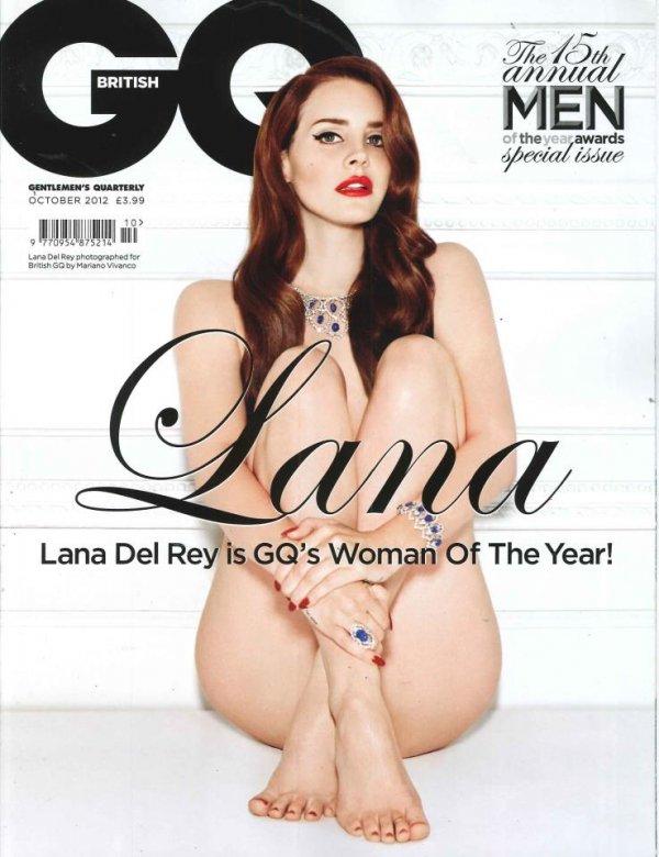 """Lana Del Rey pour le magazine """"GQ"""""""