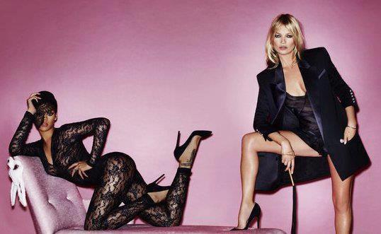 Nouveau photoshoot avec Kate Moss