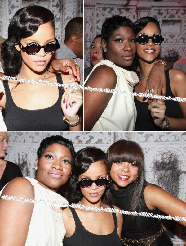 Rihanna à l'anniversaire de sa coiffeuse Ursula Stephen