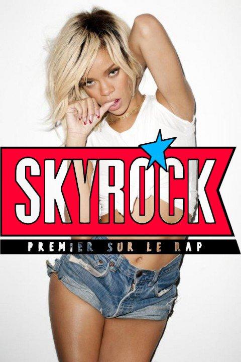 Surprise pour les RihannaNavy sur Skyrock Mercredi