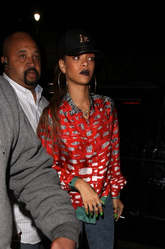 Rihanna au club « My Studio » à Los Angeles