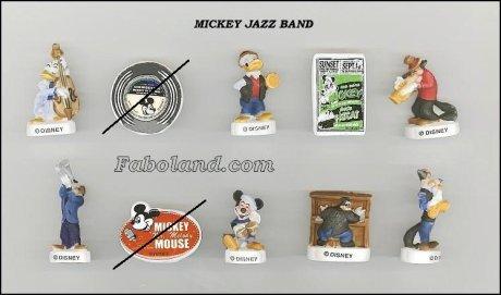 Recherche Mickey Jazz Band