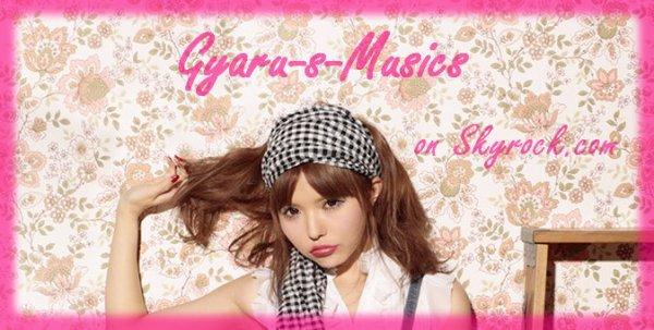 Bienvenue sur Gyaru-s-Musics !