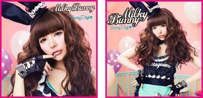 Single Bunny Days de Milky Bunny alias Tsubasa Masuwaka (Tracklist + video + infos + liens)