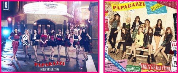 Single PAPARAZZI des Girls' Generation (Tracklist + video + infos + liens)