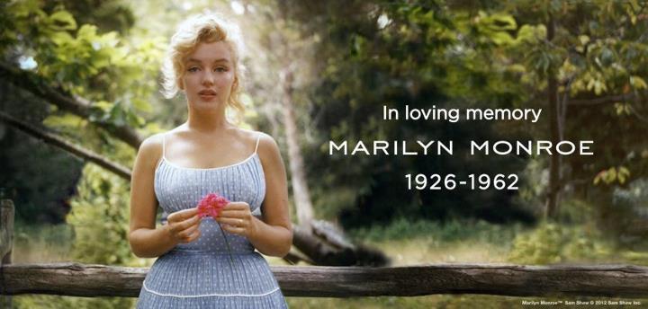Marilyn Monroe.1926-1962.