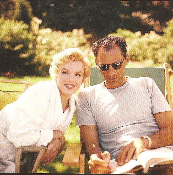 Marilyn et Arthur.