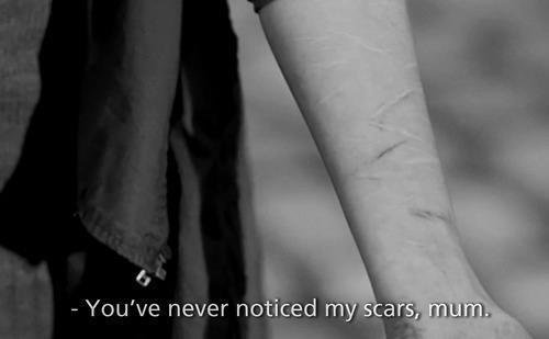 Je me mutilais