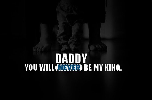 Je ne supporte pas mon père