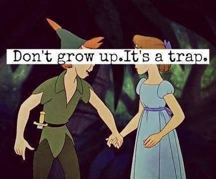J'ai le syndrome de Peter Pan