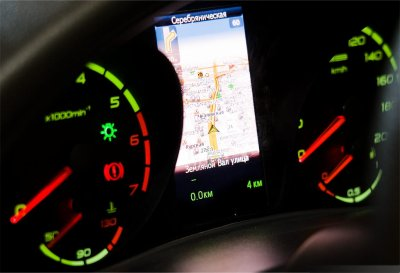 "LADA KALINA ""universal"" avec navigateur GLONASS/GPS en production à Togliatti !!!"