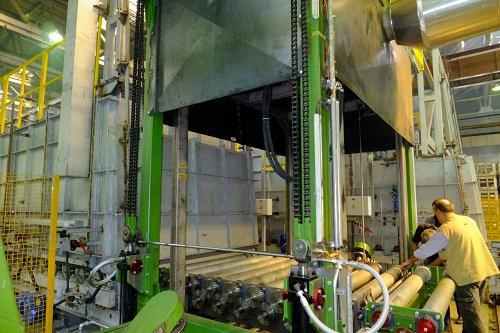 Un nouveau four de fusion d'aluminium bientôt mis en service à l'usine de Togliatti !