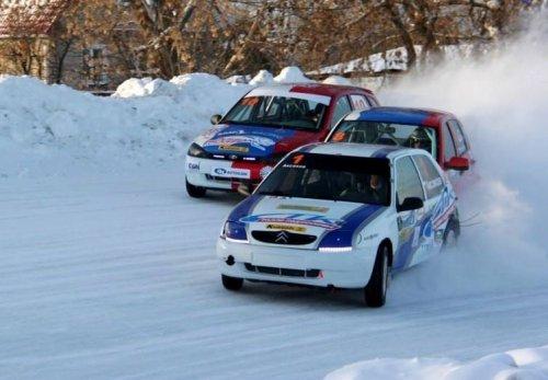 """Glace """"N-1600"""" à Ramenskoïe : les LADA KALINA de SMP Racing - Russian Bears barrées par les Citroën !!! (+ victoire d'Egor Sanin en """"Coupe de Togliatti"""")"""