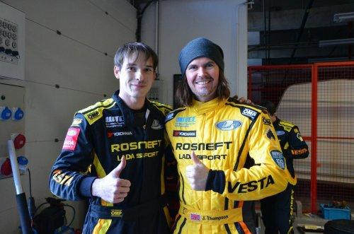 Les pilotes de LADA Sport Rosneft enchantés par la nouvelle LADA VESTA TC1 !!!