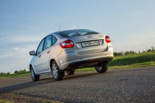 LADA GRANTA Liftback AMT disponible en Russie à partir de 331.500 roubles !!!