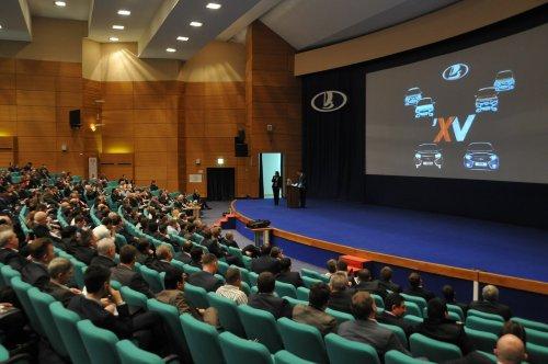 Les concessionnaires LADA de Russie réunis en conférence annuelle à Togliatti