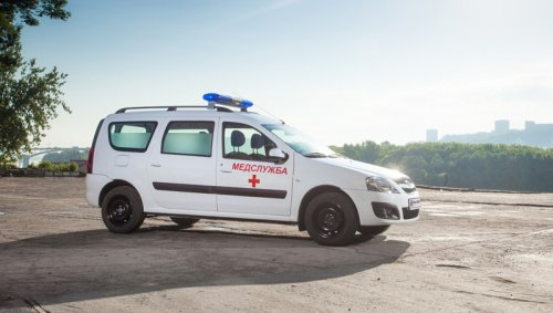 Des ambulances LADA LARGUS pour la Coupe du Monde de football 2018 !!!