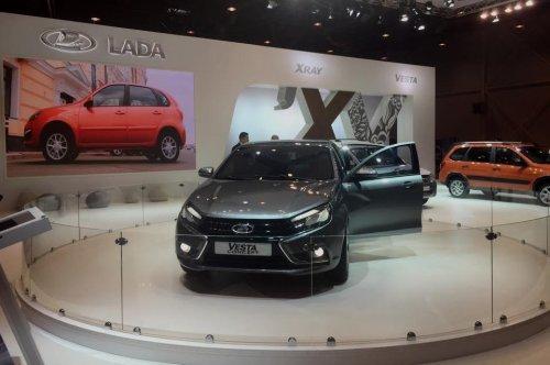"Crossovers et LADA VESTA Concept au salon ""AvtoSib 2015"" de Novossibirsk !!!"