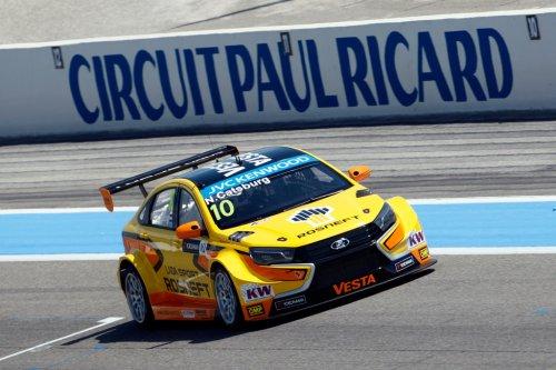 LADA Sport Rosneft en test au Castellet pour comprendre son échec et avancer !!!