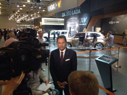 Bo Andersson confirme le lancement du break LADA VESTA dans un an !!!